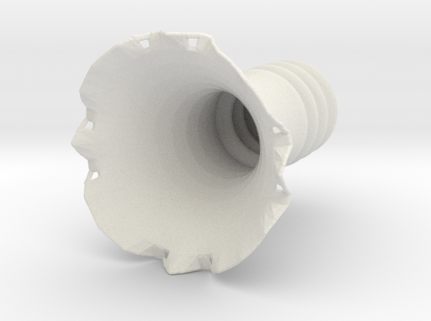 Vase-3W in White Strong & Flexible