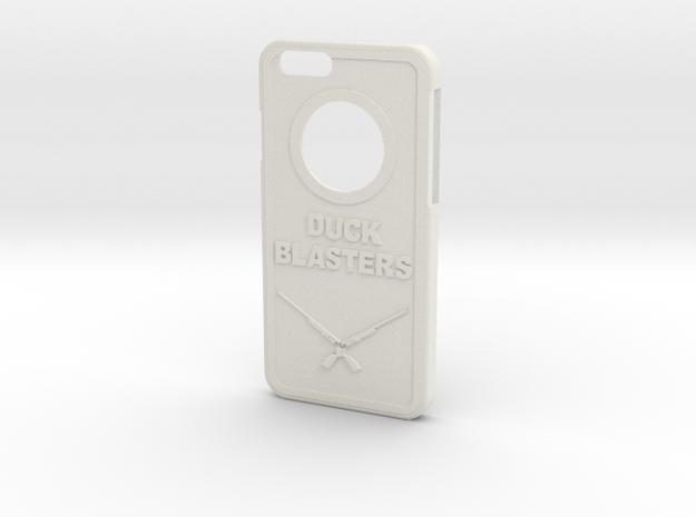 Duck Blaster Iphone 6 Case in White Natural Versatile Plastic