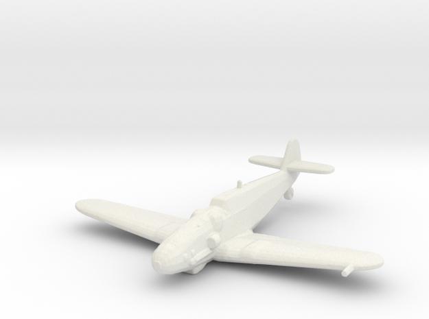 Messerschmitt Bf 109 G-14 1/200 x1 WSF in White Natural Versatile Plastic