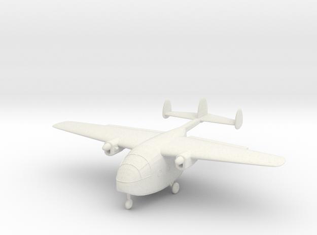 1/144 Miles Aerovan in White Natural Versatile Plastic