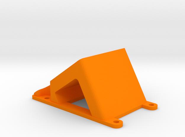 ZMR250  35° Camera mount for Runcam2, mobius, Gopr in Orange Processed Versatile Plastic