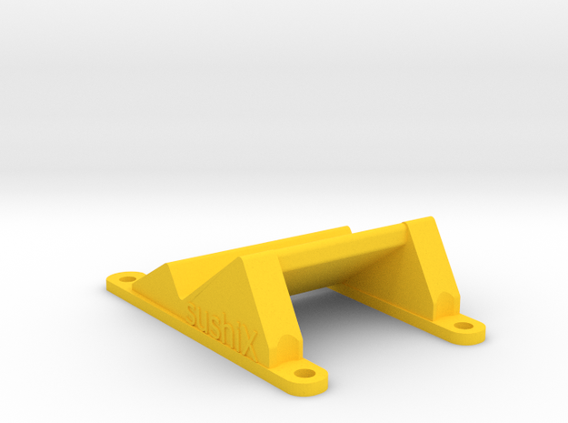ZMR250 Camera Mount for Gopro/Xiaomi yi 35° in Yellow Strong & Flexible Polished