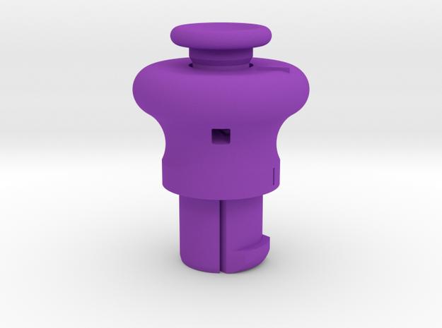 Cylinder Pull Tool in Purple Processed Versatile Plastic