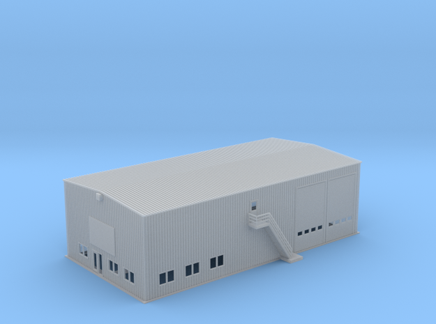 OVS Outlet Warehouse Business  Facility Z Scale in Smooth Fine Detail Plastic