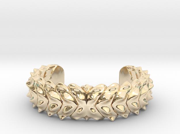 Hard Shred Cuff bracelet    MENS MEDIUM Narrow