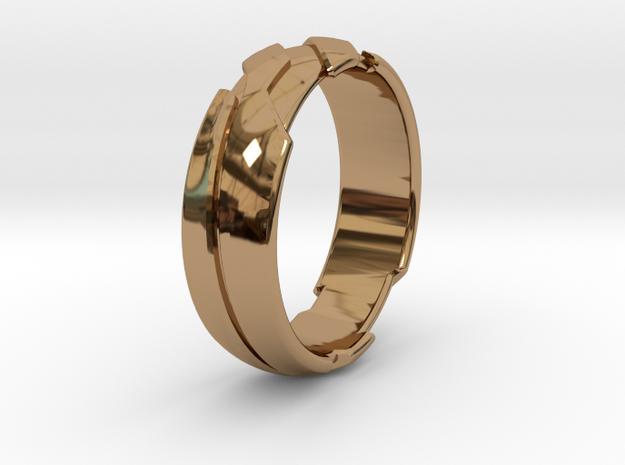 13 - G - US 3 3-8 Futuristic Ring