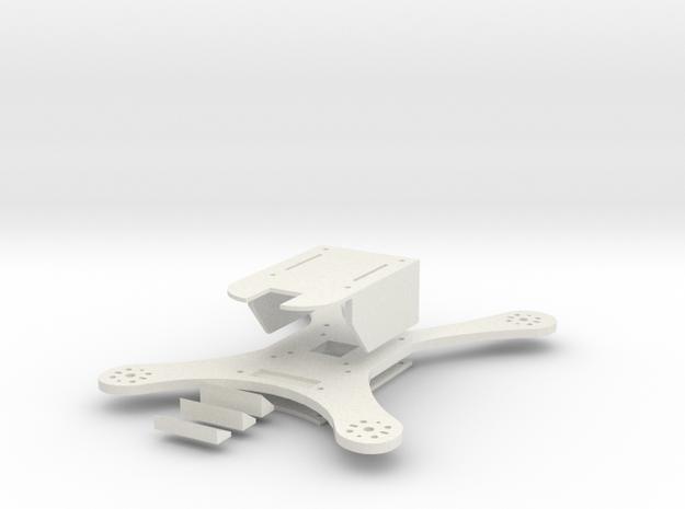 Q205 Multirotor in White Natural Versatile Plastic