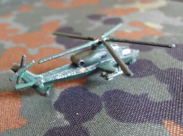 1/300 Chinese WZ-10 Attack Helicopter