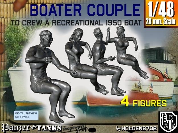 1-48 Recreation Boat Couple Set 1