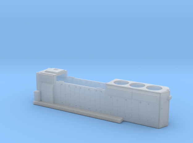 BO4422–4447 GP40-2 Hood 1/87.1 in Smoothest Fine Detail Plastic