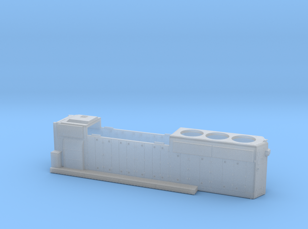 DTI422-425 GP40-2 HOOD in Smoothest Fine Detail Plastic