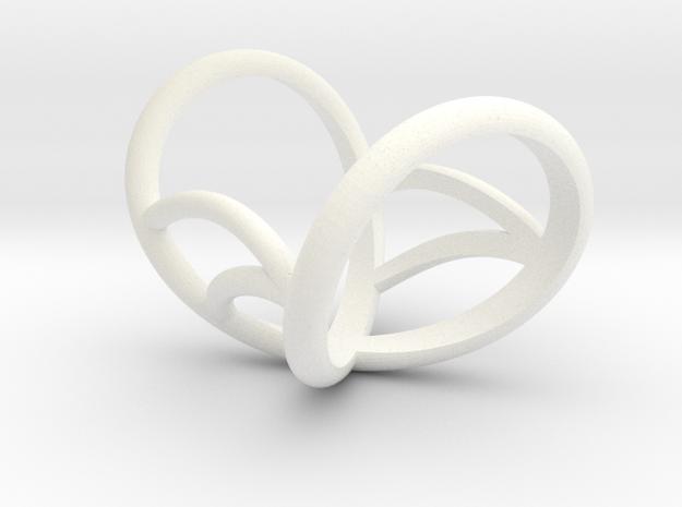 Infinity finger Splint Size 8 in White Processed Versatile Plastic