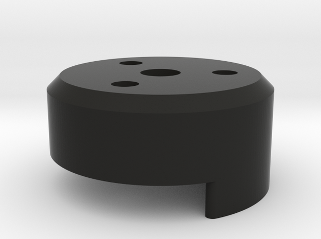 1/4-20 cinetape adapter in Black Strong & Flexible
