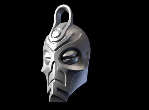 Dragon Priest Mask KeyChain