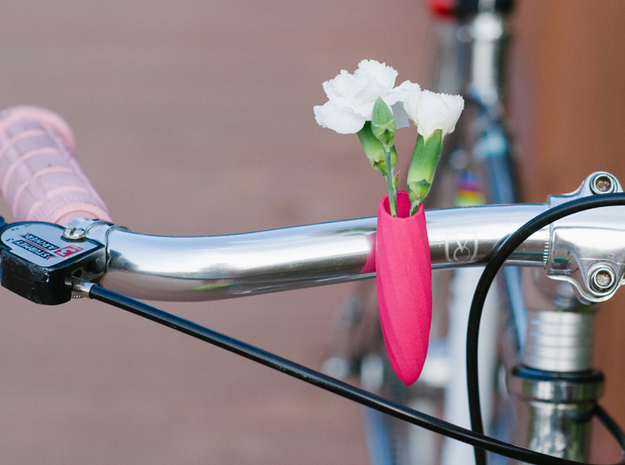 Twisted Vase for your Bike 3d printed