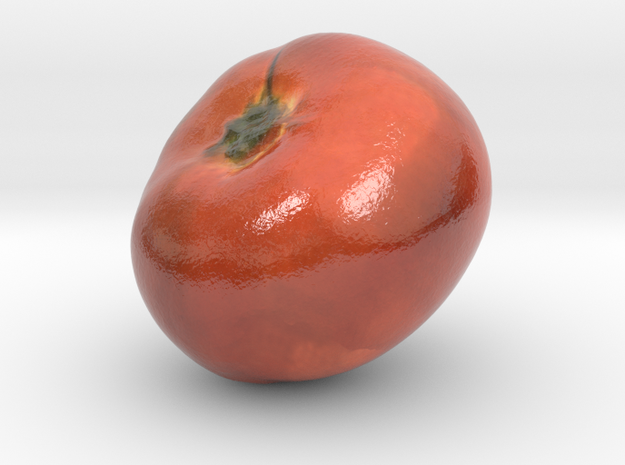 The Tomato-mini in Glossy Full Color Sandstone