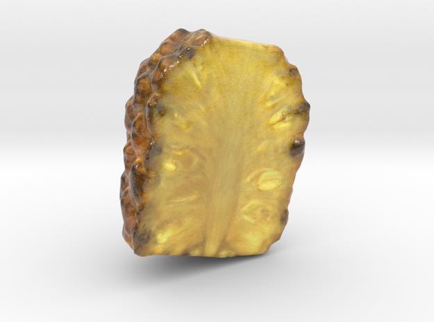 The Pineapple-Half-mini in Glossy Full Color Sandstone