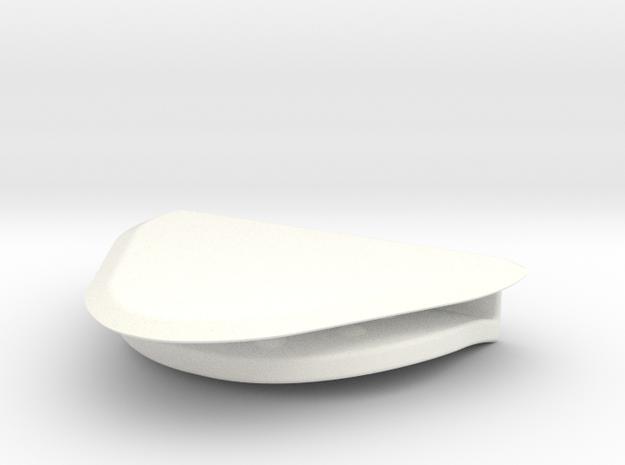 Eyebloc Slim in White Processed Versatile Plastic