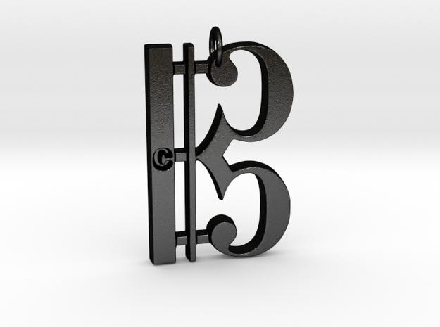 C Clef Pendant with «C»