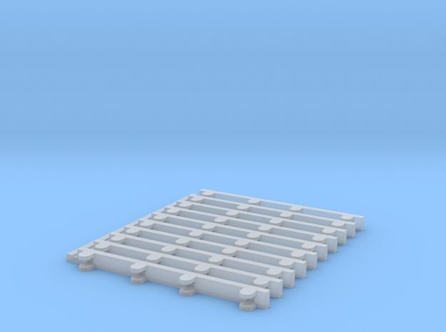 Haspelhalterung für Rietze Haspeln 10 stk. in Smooth Fine Detail Plastic