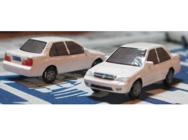 N Scale 2006-2009 Changan Suzuki Lingyang (Swift) in Smooth Fine Detail Plastic