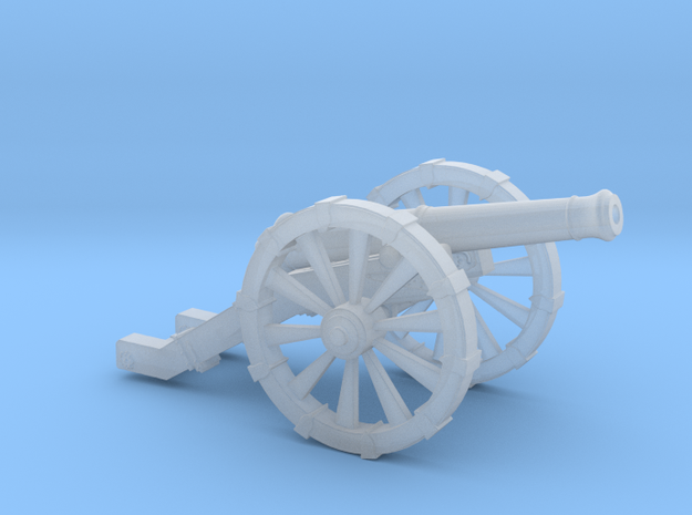 Cannon French 4 Pound   in Smooth Fine Detail Plastic