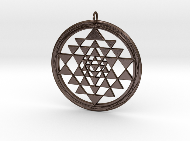 Fancy Sri Yantra Pendant