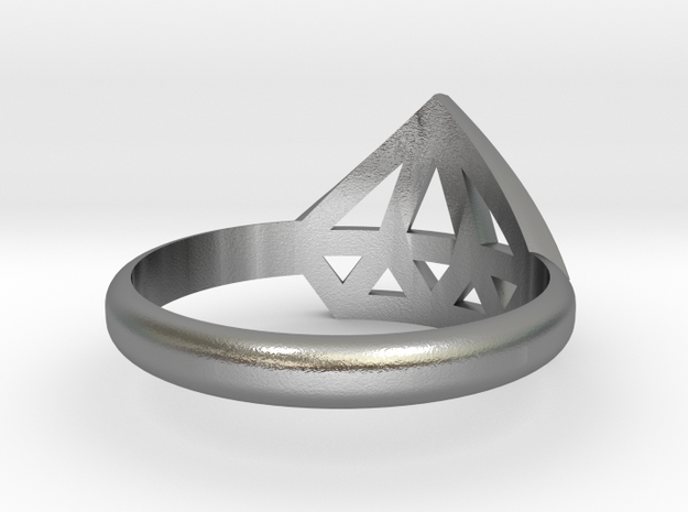 Diamant Ring V3 (geen Tekst) - 13-11-29 3d printed