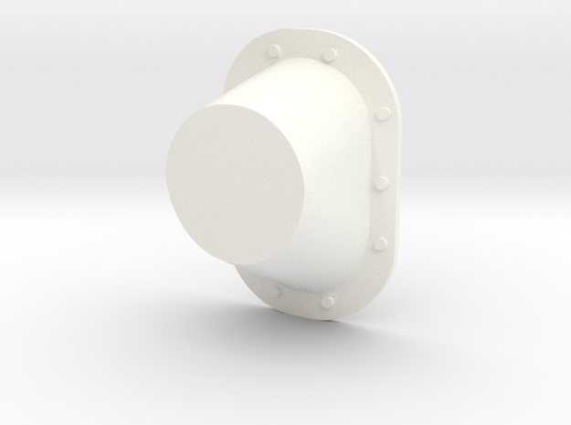 Soyuz Part F4D in White Processed Versatile Plastic