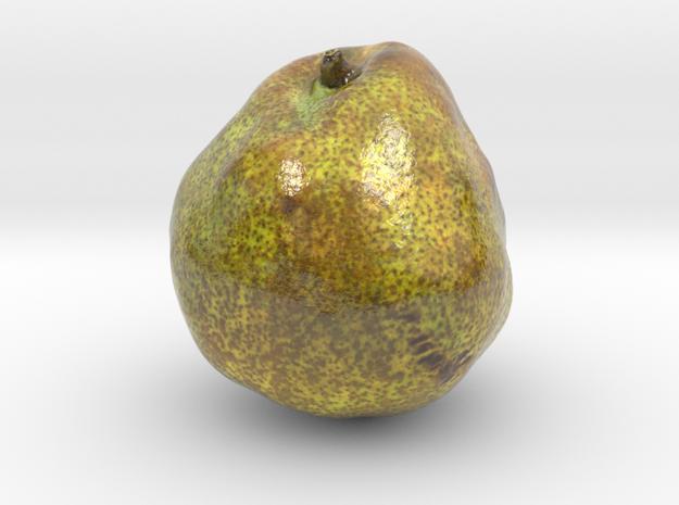 The Pear-2-mini in Coated Full Color Sandstone