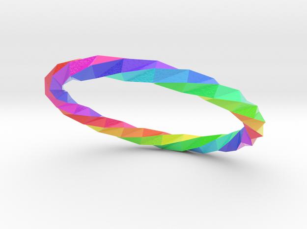 Twistium - Bracelet P=210mm Color in Glossy Full Color Sandstone