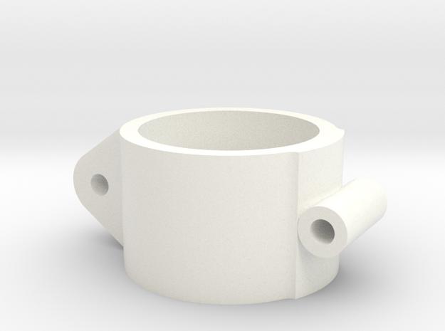 Collare in White Processed Versatile Plastic