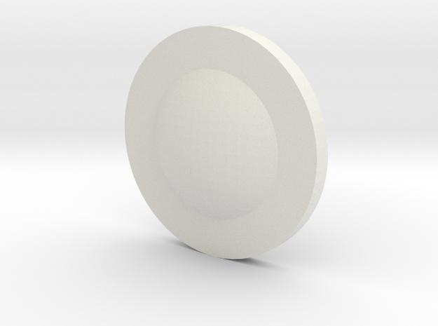 Piatt in White Natural Versatile Plastic