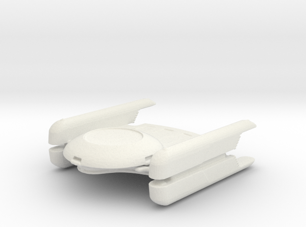 Oberth variant  in White Natural Versatile Plastic