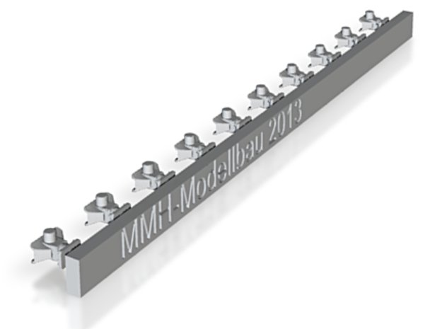 Rockingerkupplungen groß 4mm breiten Maul 3d printed