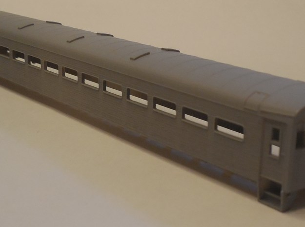 N Scale ACMU Metro-North/New York Central in Frosted Ultra Detail