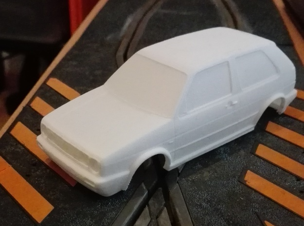 Street Golf MKII 1/32 in White Natural Versatile Plastic