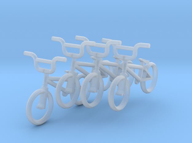 HO Scale BMX Bikes- 4 pack