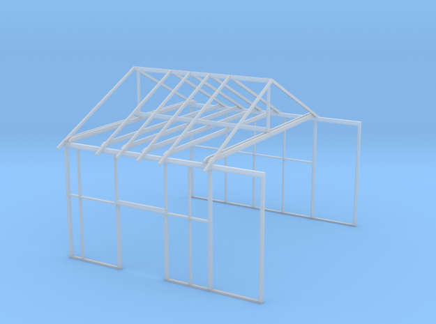 Merced Oil House Breezeway in Smooth Fine Detail Plastic