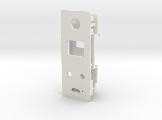 Starplat - Faceplate v1 in White Natural Versatile Plastic