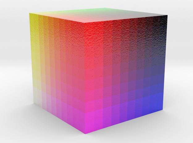 Color cube in Full Color Sandstone