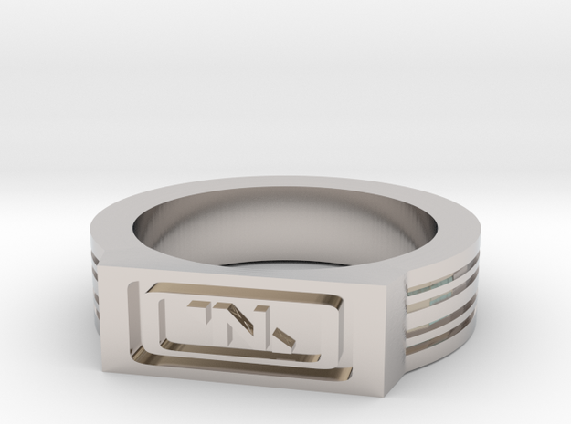 NanoTrasen Ring Size 10 in Rhodium Plated