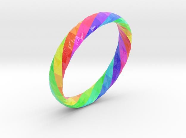 Twistium - Bracelet P=190mm h15 Color in Glossy Full Color Sandstone