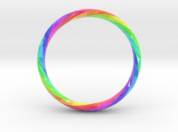 Twistium - Bracelet P=230mm h15 Color in Glossy Full Color Sandstone