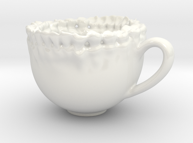 Teeth Tea Cup 3d printed