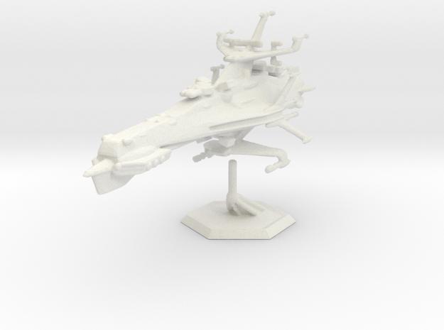 Star Sailers - Warren Patrol Cruiser 001 in White Strong & Flexible