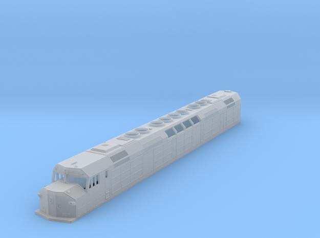 N Scale DDF40X in Smooth Fine Detail Plastic