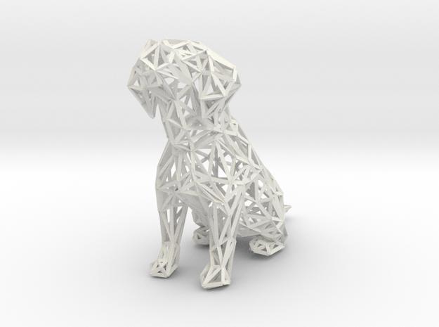 Beagle Dog Wire Frame 3d printed