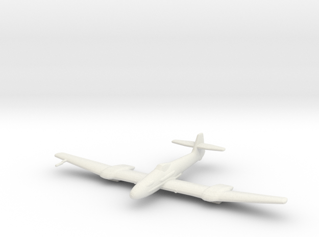 Blohm & Voss BV-155 in White Natural Versatile Plastic: 1:200