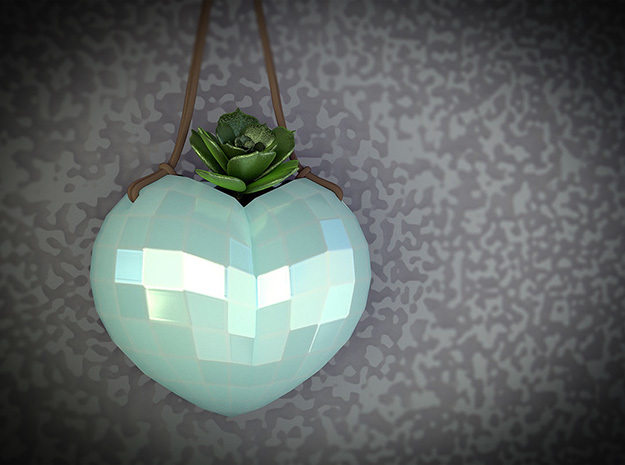 Hanging Heart Vase Planter. Great Gift!